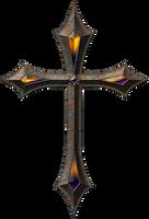 Old metal cross 1 by jojo-ojoj