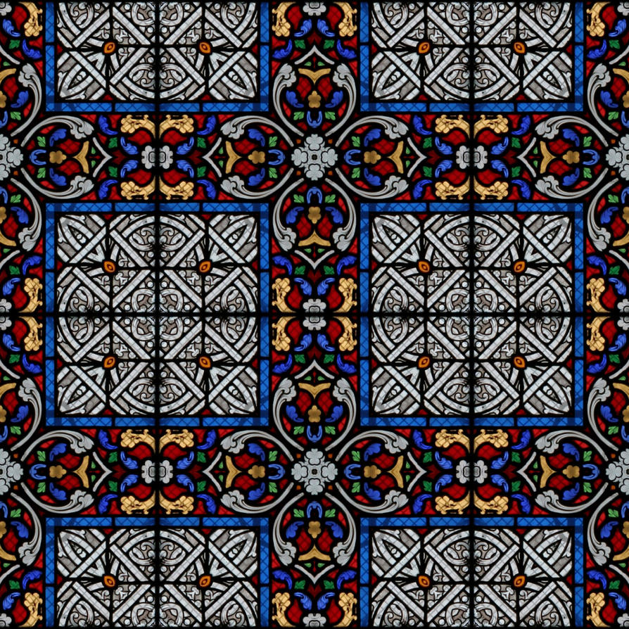 Glass Art Texture
