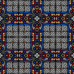 Stained glass seamless texture 1