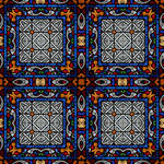 Stained glass seamless texture 2