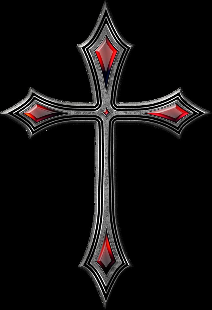 Gothic cross by jojo ojoj on deviantart