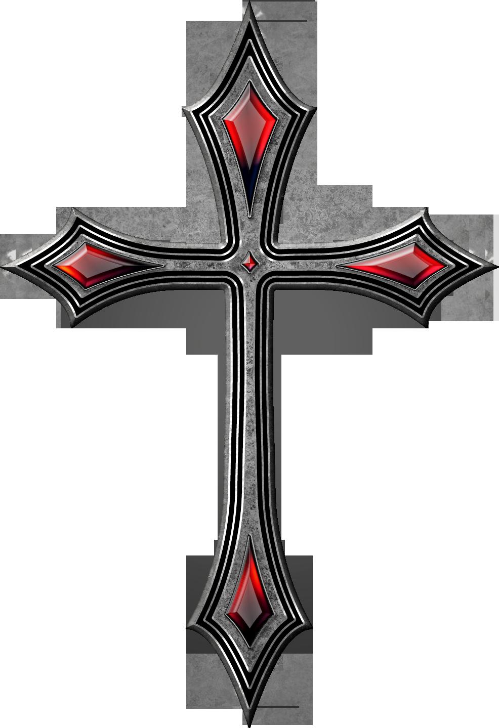 Gothic cross 1 by jojo-ojoj