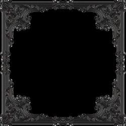 Old metal frame