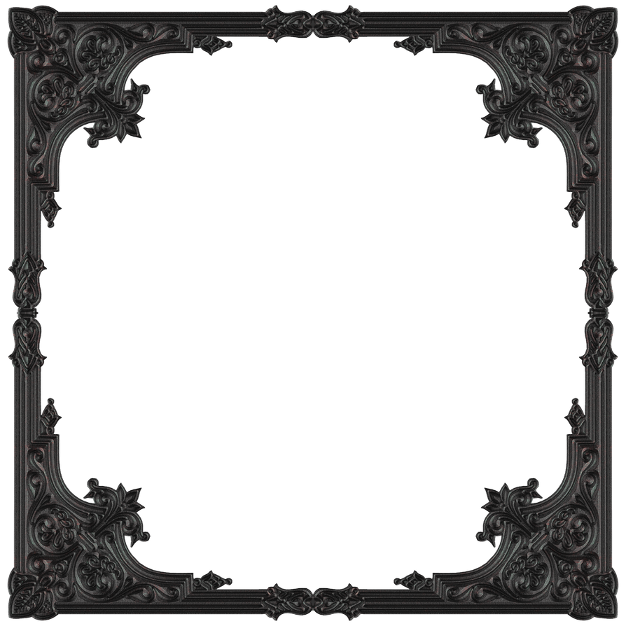 old metal frame by jojo ojoj - Metal Picture Frame