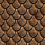 Scales metal seamless texture 1