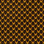 Dragon fire seamless scales 1