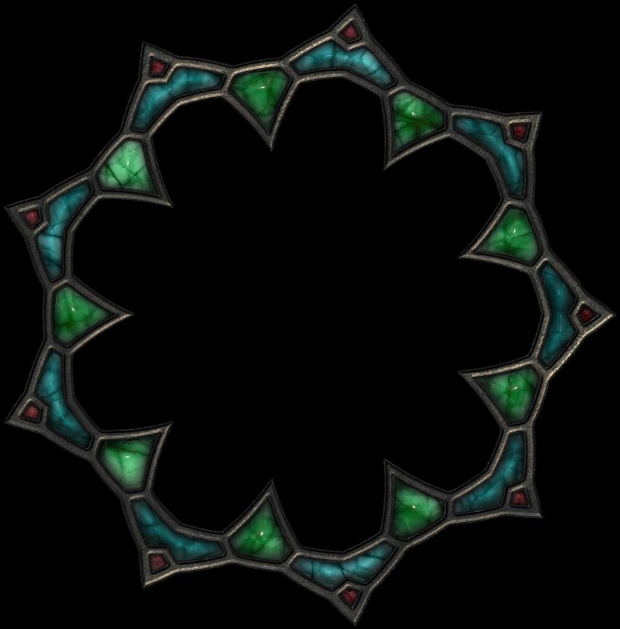 Gemstone frame by jojo-ojoj