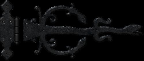Medieval hinge