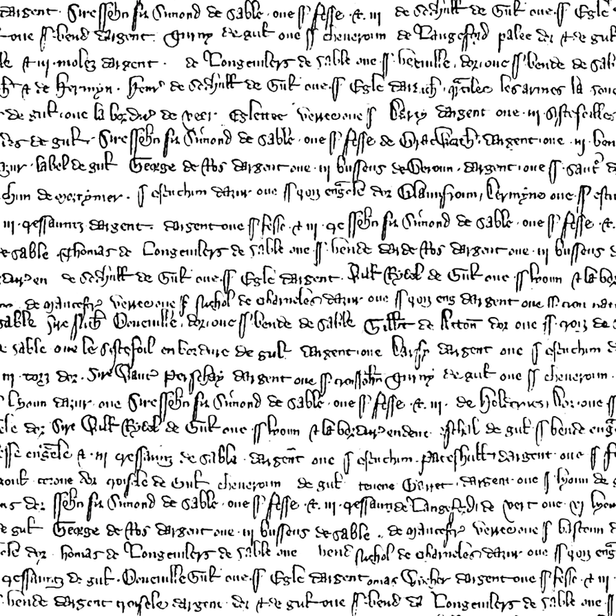 Medieval text seamless textures, png by jojo-ojoj