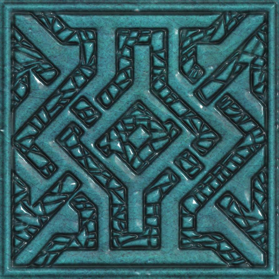 Ceramic tile seamless texture by jojo-ojoj