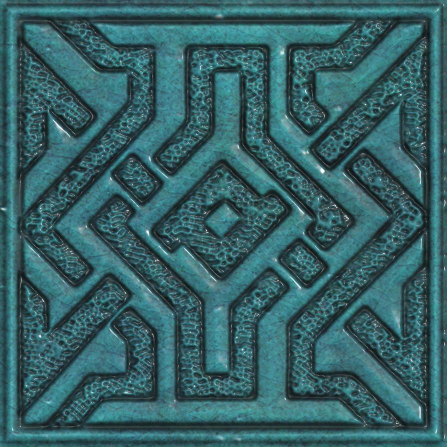 Ceramic tile seamless texture 1 by jojo-ojoj