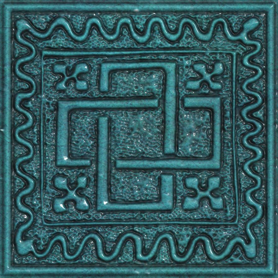 Ceramic tile seamless texture 2 by jojo-ojoj