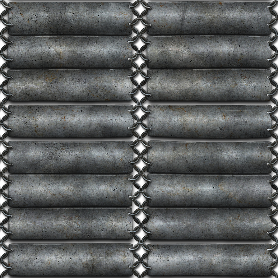 silver chainmail seamless texture png by jojoojoj on