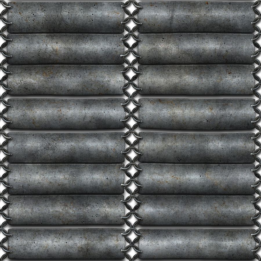 Silver chainmail seamless texture png by jojo-ojoj on ...