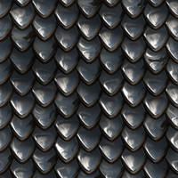 Metal scales seamless texture
