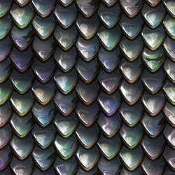 Metal scales seamless texture 1