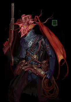 Commission - Demon Cowboy