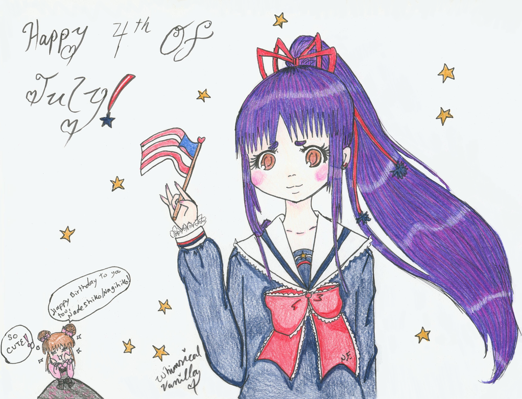 Happy Fourth of July! by WhimsicalVanilla