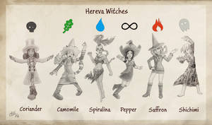 [Pepper_and_Carrot_X_Pokemon] Hereva Witches
