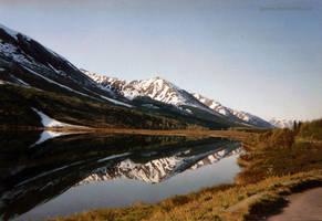 Reflection of Mountians by jgavac