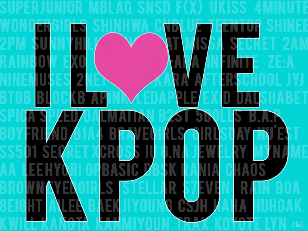 I love kpop by PJopE on DeviantArt