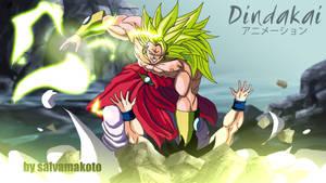 Broly ss3 vs Goku