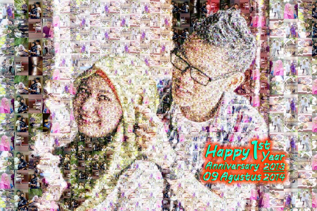 anniversary mozaik by Pasangrock