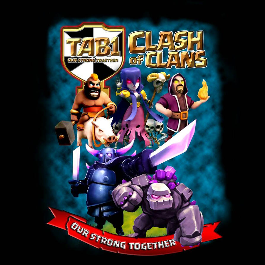 TAB1 CLASH OF CLANS by Pasangrock