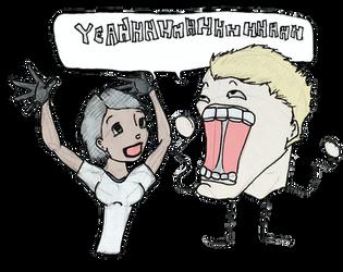 Yeahhhhhhhhhhhhh! by bloodredcookie