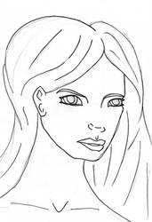 Look sketch by bloodredcookie