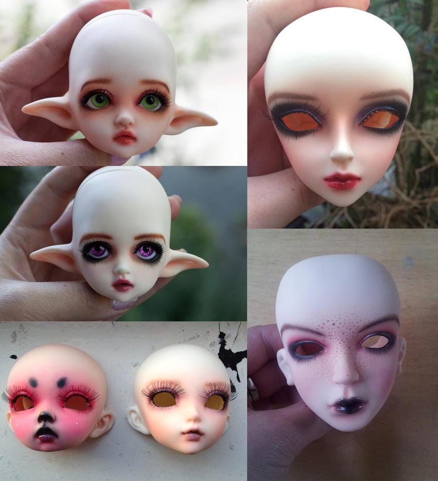 Face-ups 2 by BlackRoosje