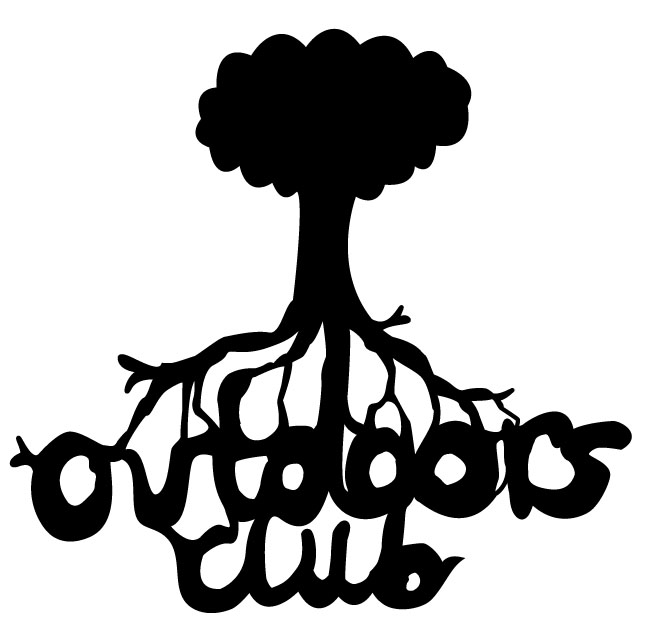 the logo for outdoors club
