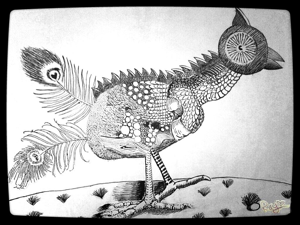 Fantasy animal by RayTheEvil