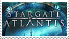 Stamp Stargate Atlantis by SevenCyn