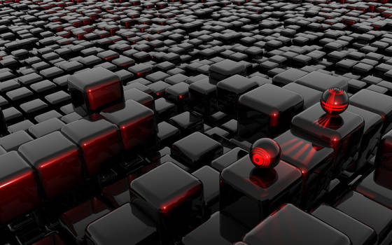 Red Cubes Invasion