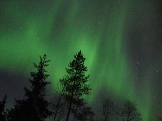 Aurora borealis by Halvari