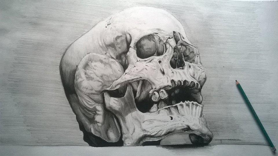 Death face by MaxwellPL