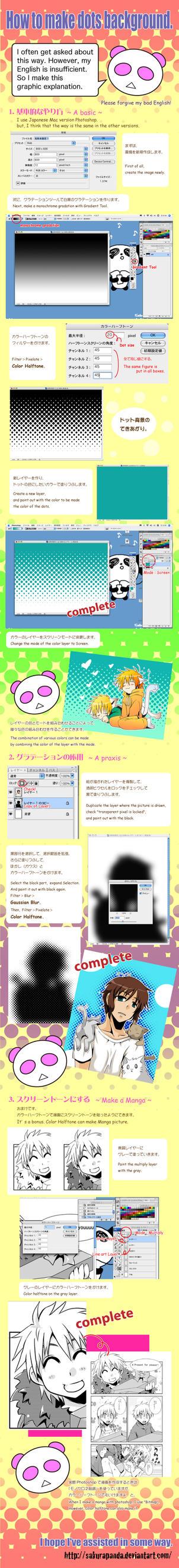 Tutorial: Dots Background by sakurapanda