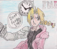 Edward Elric: Don't Forget by MEG4LOVANIA