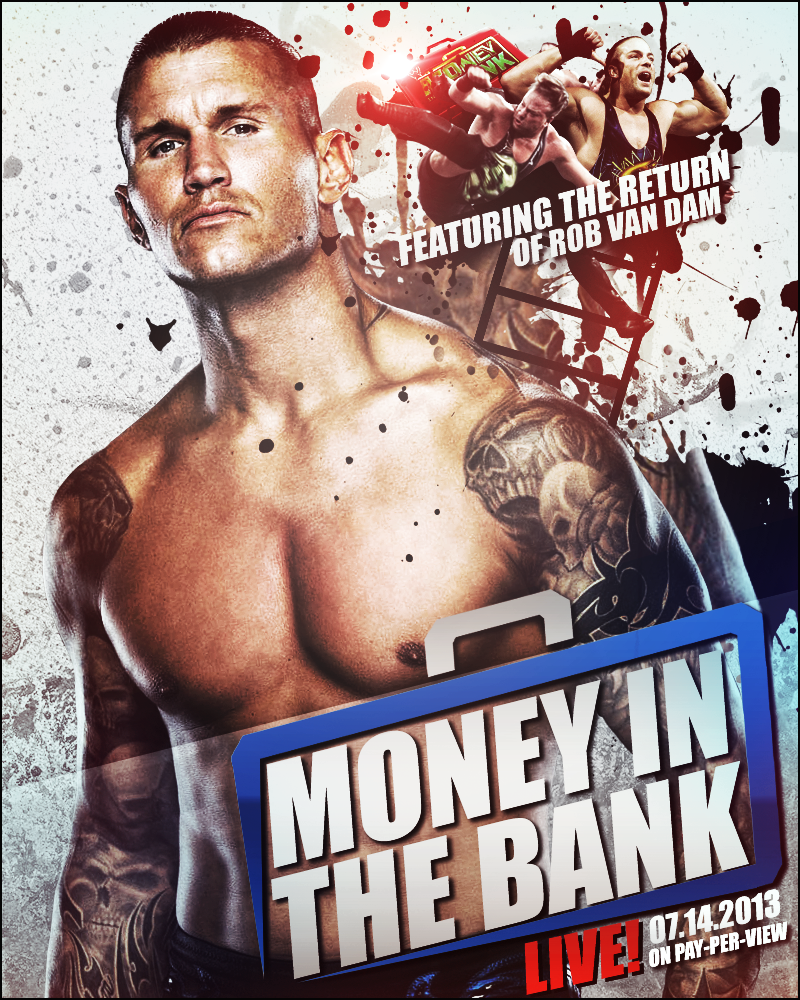 Money In The Bank 2013 by CagedVenom