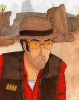 TF2: Sniper with COLOR by SuddenlyNixon