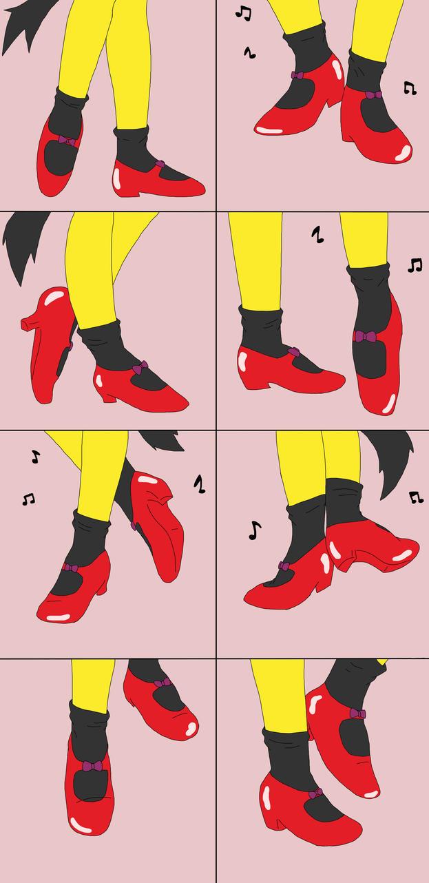 Honey feet dance by Wandering-Flames
