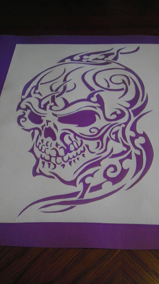 Purple Skull by Sheik2000