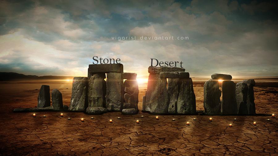 Stone Desert by VigarisT