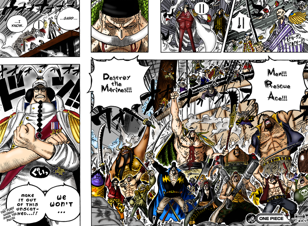 one piece whitebeard coloring by madman15 on DeviantArt