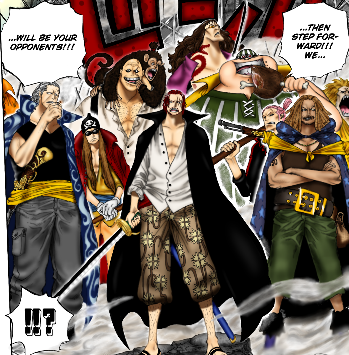op shanks crew coloring by madman15 on DeviantArt  One