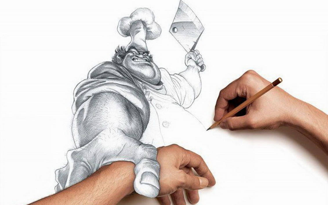 Cool Sketching Art Hd By Eameirol21 On Deviantart