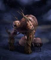 swamp creature 3 by LozanoX