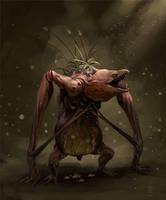 swamp creature 2 by LozanoX