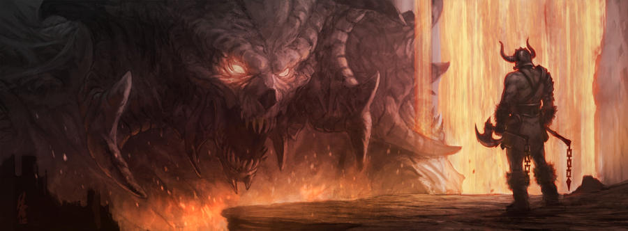 Diablo 3 Fan-art by LozanoX